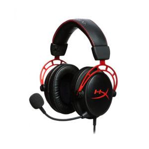 Audífono Gamer HyperX Cloud Alpha, Micrófono desmontable, Conector 3.5mm, Negro/Rojo