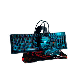 Combo Gamer Teclado + Mouse + Audífono + Pad Xblade Assassin X