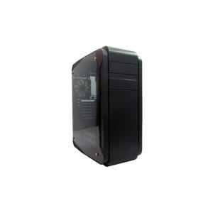 Case Gamer Teros Vertigo, Tower, USB 3.0 / USB 2.0, Audio HD, Luces LED RGB, Negro