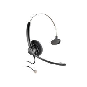 Auricular Plantronics Practica SP11-QD, Mono, Negro, Cancelación de ruido
