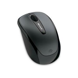 Mouse Microsoft Mobile 3500, Óptico, Inalámbrico, Negro