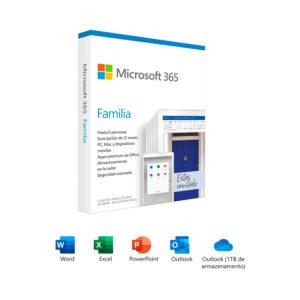 Microsoft 365 Familia, 6 Usuarios, Original (6GQ-00088)