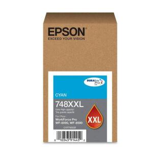 Tinta Epson 748XXL220-AL, Cyan, Original