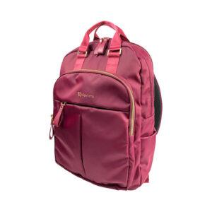Mochila Klip Xtreme para Notebook de 15.6″, Nylon, Rojo (KNB-468RD)