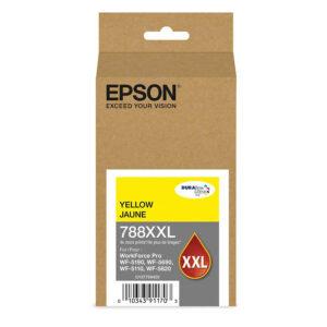 Tinta Epson 748XXL420-AL, Amarillo, Original