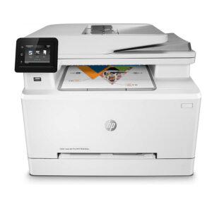 Impresora HP MFP M283fdw, Copia, Imprime a Color, Escanea (7KW75A#AKV)