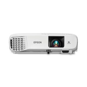 Epson PowerLite 108, Proyector 3LCD, portátil, 3700 lúmenes (blanco), 3700 lúmenes (color), XGA (1024 x 768) , 4:3 , LAN (V11H860020)