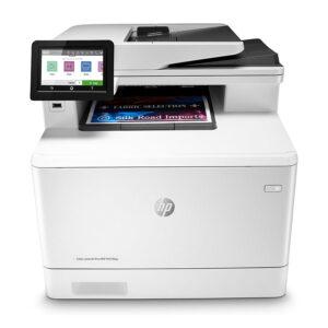 Impresora Multifuncional HP M479fdw, Imprime, Copia, Escanea, Fax, 28PPM (W1A80A#AKV)