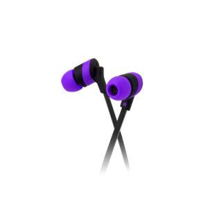 Klip Xtreme KolorBudz Auriculares Internos 3.5mm Púrpura (KHS-625PR)