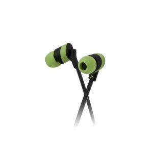 Klip Xtreme KolorBudz Auriculares Internos 3.5mm Verde (KHS-632GN)