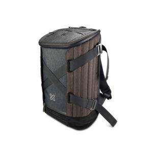 Mochila convertible para Notebook Klip Xtreme,15.6″, Nylon, Gris/Marrón (KNB-900GR)