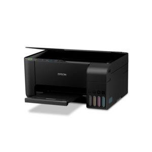 Impresora Multifuncional de Tinta Epson Ecotank L3150, Wi-Fi, Imprime, Escanea, Copia (C11CG86303)
