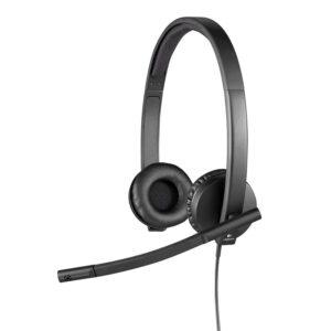 Audífono Estéreo con micrófono Logitech H650E (981000518)