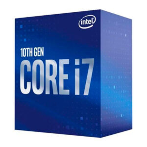 Intel Core i7 10700 , 2.9 GHz , 8 núcleos , 16 hilos , 16 MB caché , LGA1200 Socket , (BX80677I77700K)