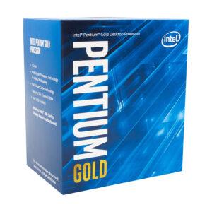 Intel Pentium Gold G5400, 3.7 GHz, 2 Núcleos, 4 hilos, 4 MB caché , Socket LGA1151 , 8va Generación , Caja (BX80684G5400)