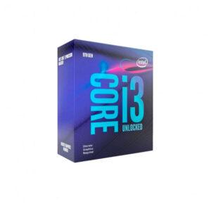 Intel Core i3 9100 , 3.6 GHz , 4 núcleos , 4 hilos , 6 MB caché , LGA1151 Socket , Caja (BX80684I39100)