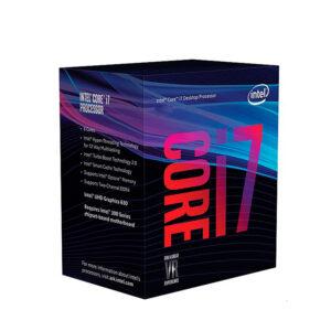 Intel Core i7 9700 , 3 GHz , 8 núcleos , 8 hilos , 12 MB caché , LGA1151 Socket , (BX80684I79700)