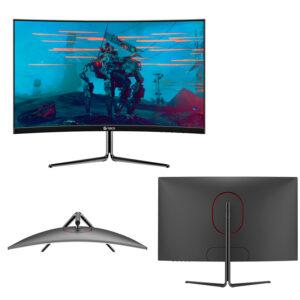 "Monitor Gamer Teros TE-3124, 23.6"" VA Curvo, 144Hz, 1920×1080, FHD, HDMI, DisplayPort"