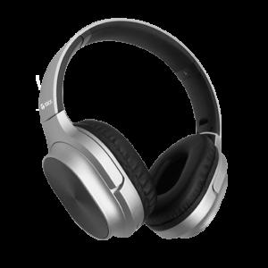 Auriculares Headset Teros Bluetooth TE-8080N Plateado