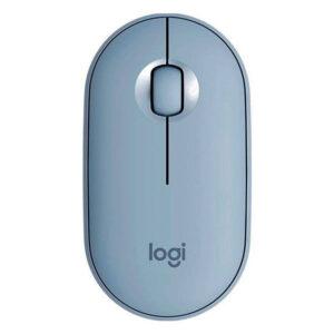 Mouse Logitech Pebble M350 Silent Wireless, Bluetooth, Grey (910-005773)