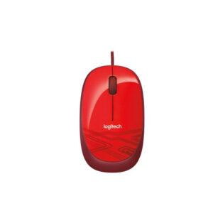 Mouse Logitech Óptico M105, Alámbrico, USB, Rojo (910-002959)