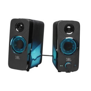 JBL Speaker Bluetooth 20W 2.0 Lights Black (JBLQUANTUMDUOBLKAM)