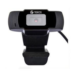 CÁMARA WEB TEROS TE-9060, HASTA 720P, MICRÓFONO INCORPORADO, USB 2.0