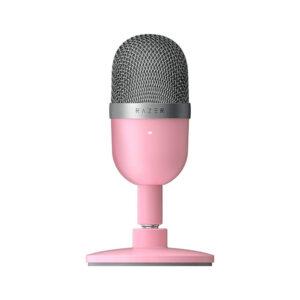 Micrófono Razer Seiren Mini Quartz USB Rosa (RZ19-03450200-R3M1)