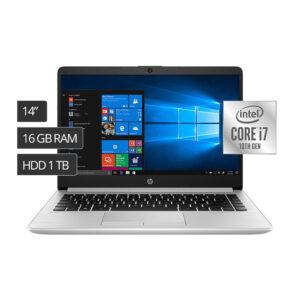 Notebook HP 348 G7 14″ Core i7-10510U,1TB, 16GB RAM, Windows 10 (2Y348LT#ABM)