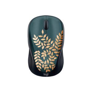 Mouse Inalámbrico Logitech M317C Golden Garden Black (910-006115)