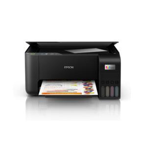 Multifuncional de tinta Epson EcoTank L3210, Imprime, escanea, copia, USB